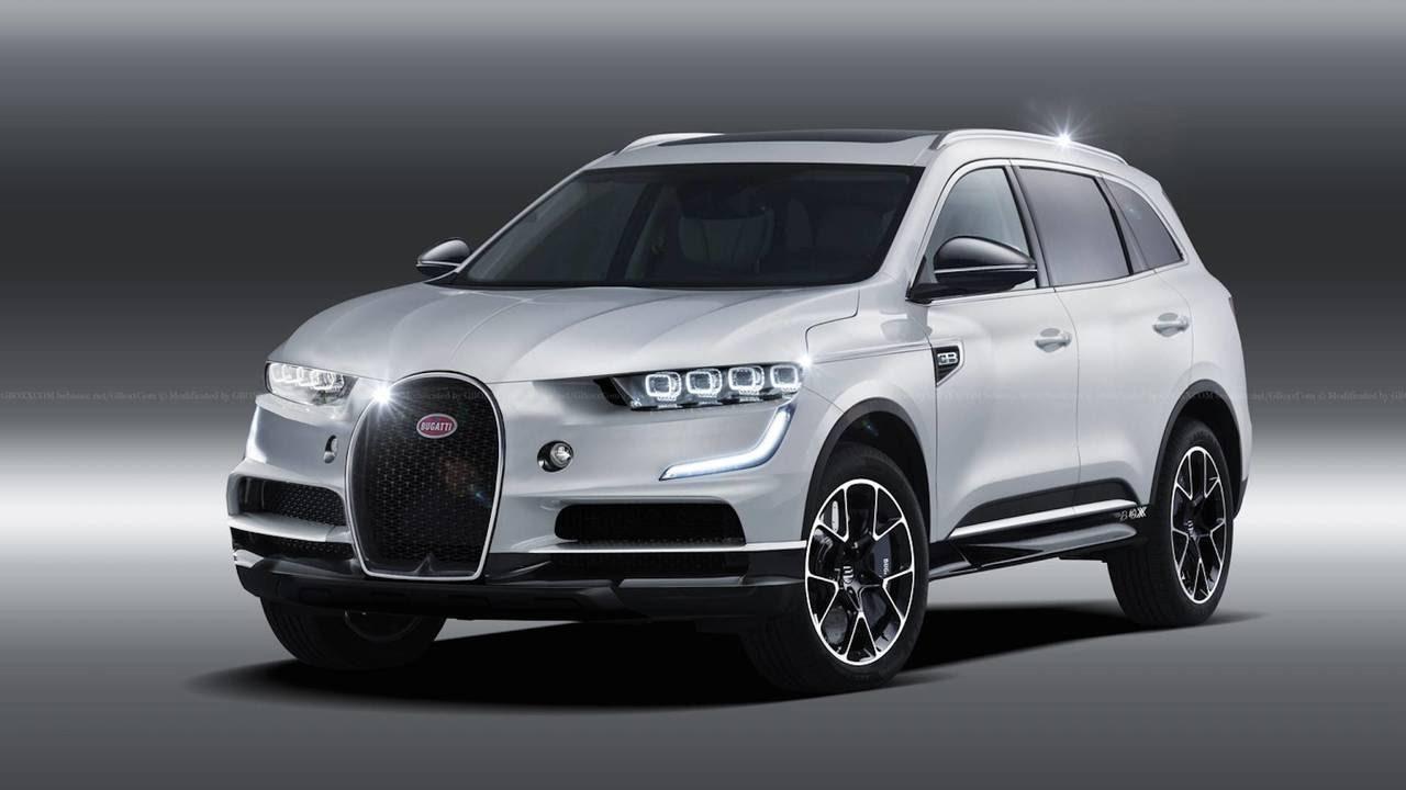 2020 Bugatti SUV Concept